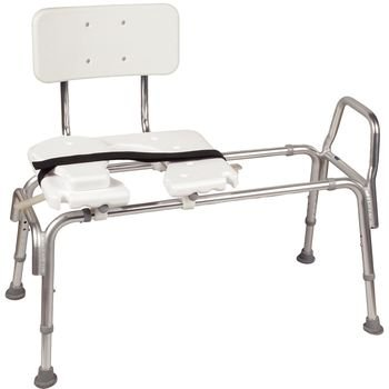 Preston - Health Bariatric Heavy Duty Sliding Transfer Bench with Cut-Out Seat (For Bariatric Heavy Duty Sliding Transfer Bench with Cut-Out Seat )