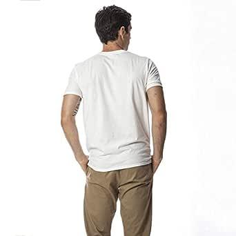 Travel the world cotton tshirt, White - S