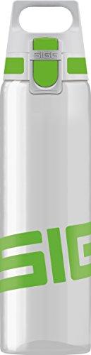 SIGG Total Clear ONE Green, Sport Water Bottle, Tritan, BPA Free - 20oz