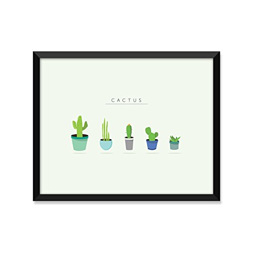 Cactus Cute, Modern Illustration, Minimalist Poster, Home Decor, College Dorm Room Decorations, Wall Art