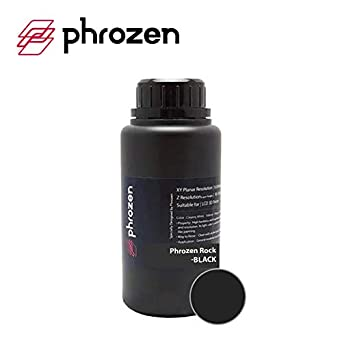 PHROZEN ABS-LIKE – ROCK BLACK - 0,5kg - Resina impresora 3D 405um