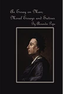 an essay on man amazon co uk alexander pope tom jones  an essay on man moral essays and satires