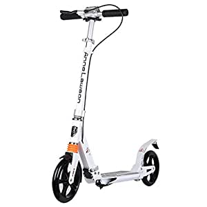 HYE-Patinete Scooter para Adultos, niños, niños, Plegable ...