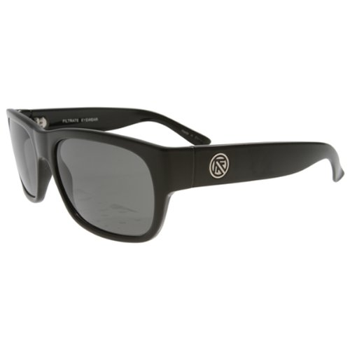 Filtrate Eyewear Ban Ray CR39 Composite Sunglasses, Black ()