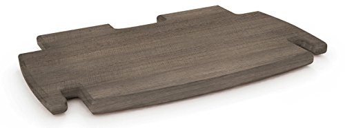 Legare Kitchen Bookcase (Legare Furniture, No Tools Assembly 12-Inch Spare Shelf, Grey Driftwood)