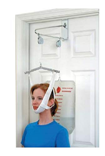 Over Door Cervical Traction Kit Neck Back Stretcher Adjustment Chiropractic from Unknown