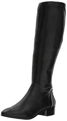 NINE WEST Women's Olwynee Synthetic Knee High Boot