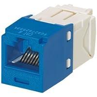 Panduit CJ688TGBU Mini-Com TX6 Plus Giga-Channel Cat6 Jack, Blue, Box of 50