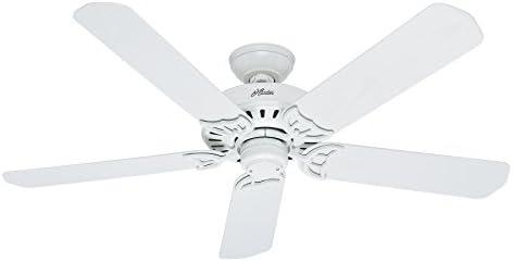 Hunter Fan Company 53125 Bridgeport 52-Inch ETL Damp Listed Ceiling Fan
