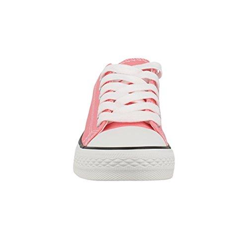 sportlich Elara Herren Damen Halbschuhe Rosa Turnschuh Boots Sneaker BenkeyB Chunkyrayan WqRBaYq