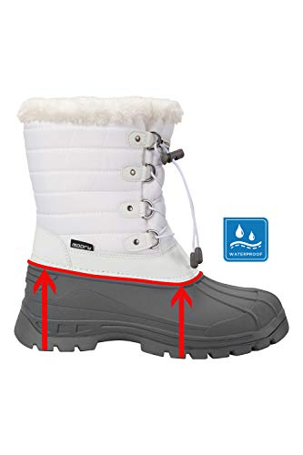 Per Bianco Sciare E Warehouse Donna Snowboarding Stivali Neve Impermeabili Mountain Ideali Whistler Da 6Sxx87