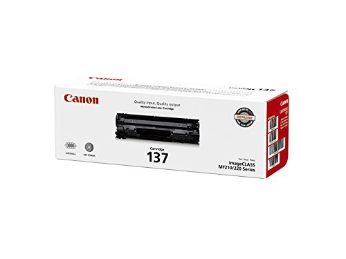 Canon Original 137 Toner Cartridge