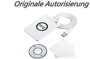 Lector de Tarjetas NFC ACR122 ACR122U Inteligente sin Contacto y ...