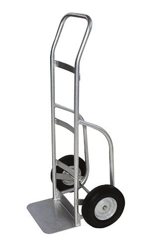 Milwaukee Hand Trucks 40263 Aluminum Flow Back Handle Truck with Puncture Proof Tires and Steel Hub