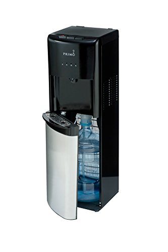 Dispenser Hot 1 Water Hot - Primo Stainless Steel 1 Spout Bottom Load Hot, Cold and Cool Water Cooler Dispenser