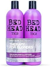 Tigi Bed Head Dumb Blonde Shampoo And Conditioner 750 Ml Pack Of 2 Amazon Co Uk Beauty