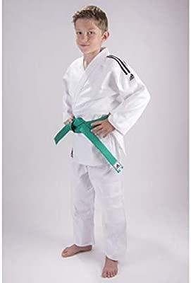 adidas Traje de Judo Junior 150: Amazon.es: Deportes y aire ...