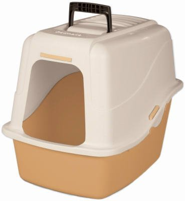 Petmate Cat Litter Pan With Microban Large 18.9 In. L X 15.1 In. W X 17 In. H Asstd ()