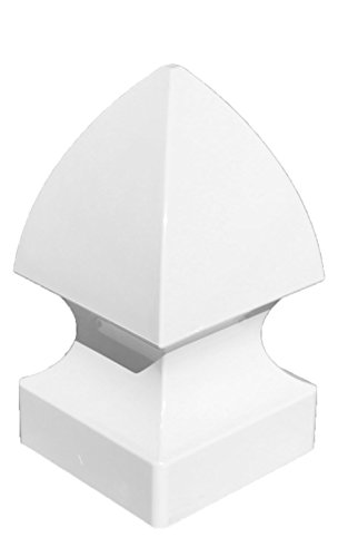 Gothic Fence (Gothic Fence Post Cap (White))