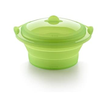 Amazon.com: Lekue – Layered Steamer, Verde: Kitchen & Dining