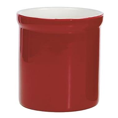 Prepworks by Progressive Ceramic Tool Crock - Red