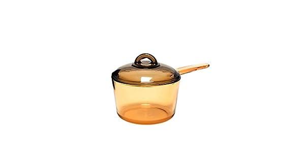 Amazon.com: Luminarc Amberline - Cacerola de cocina (cristal ...