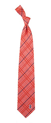 - Illinois Oxford Stripe Woven Silk Necktie