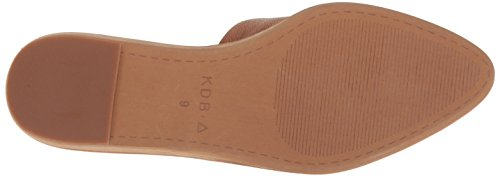 Kelsi Dolk Brooklyn Womens Amory Spiss Tå Flat Tan