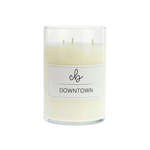 Tobacco and Floral Mix Scented Soy Candles - Downtown - CandleBox Store - 23.1 Ounces, 88 Hours Burn Time, - Stores Downtown La