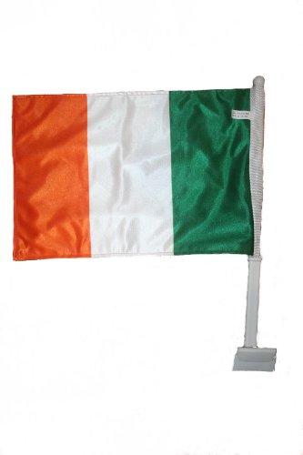 Ireland Irish Country Flag Heavy Duty Car Stick Flag 12