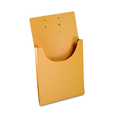 Pendaflex Expandable Retention Jackets - Pendaflex J044 Expandable Retention Jackets, Legal/Letter, Kraft Brown (Box of 100)