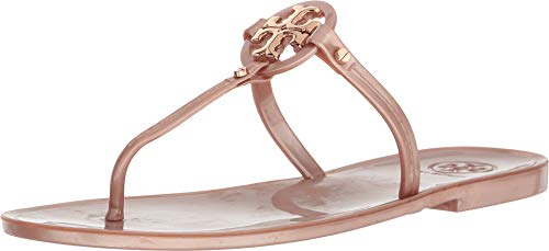 Tory Burch Mini Miller Jelly Thong Sandals (7, Rose ()