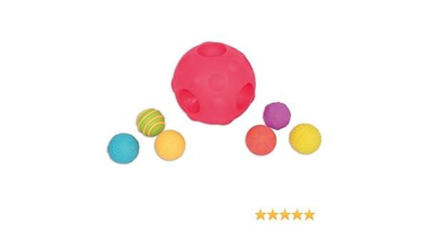TickiT 74056 Pelota sensorial en forma de meteoro con 6 pelotas ...