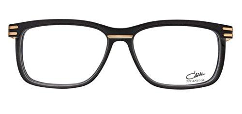 Cazal 6016 Eyeglasses 001 Black-Gold / Clear Lens 56 - Clear Cazal