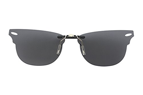 bb1c530546a Custom Polarized Clip on Sunglasses For Ray-Ban CLUBMASTER RB5154 ...