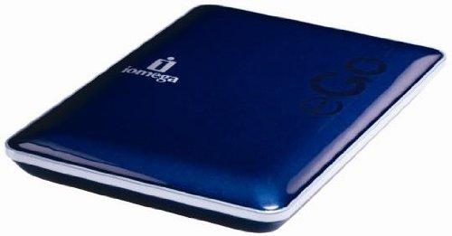 Iomega 1TB eGo Portable Hard Drive, SuperSpeed USB 3.0/USB 2.0 Midnight Blue - (Iomega Ego Portable Hard Drive)