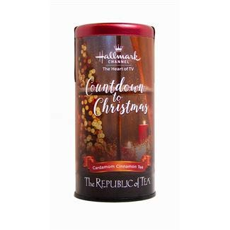 (The Republic of Tea Countdown to Christmas, Cardamom Cinnamon Tea)