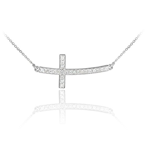 The Proverbial O in the Trend Du Jour Vermeil O Pendant with White Cubic Zirconia