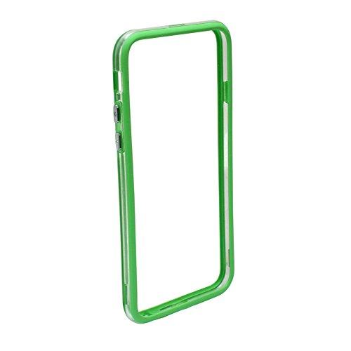 2pcs Vert Cadre de Bord Bumper Plastique Case Côté pr Apple iPhone 6 4.7 Inch