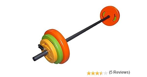 Tunturi Weight Set Pump Aerobic, Unisex Adulto, 20 kg: Amazon.es ...