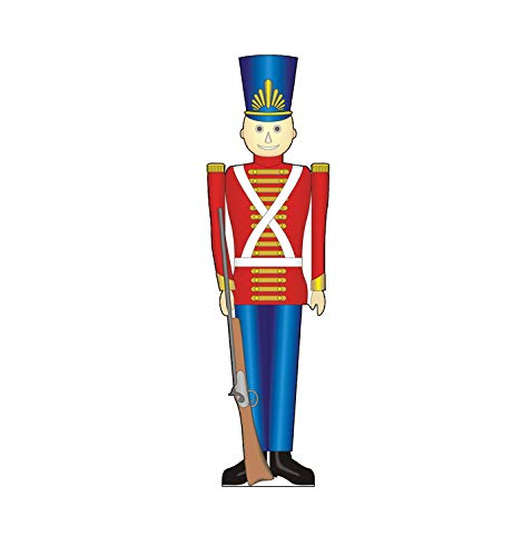Soldier Cut Out - Advanced Graphics Toy Soldier Life Size Cardboard Cutout Standup