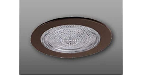 "Elco Lighting EL9113BZ 4/"" Shower Trim with Fresnel Lens and Reflector EL9113"