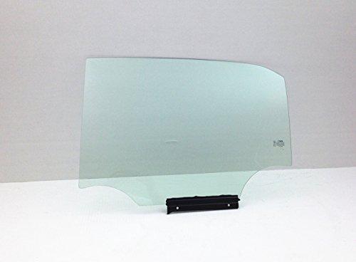 NAGD Fits 2009-2013 Toyota Corolla 4 Door Sedan Driver Side Left Rear Door Window Glass