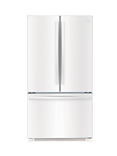 Kenmore 26.1 cu. ft. Non-Dispense French Door Refrigerator in White, includes delivery and hookup (Available in select cities only) by Kenmore