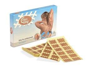 CureTape Crosslinq Acupressure Crosshatch Patches - Box of 160 Medium Patches