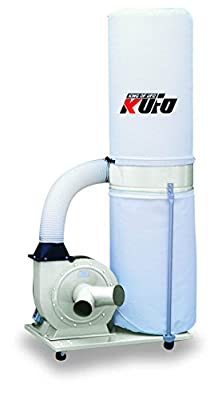 Kufo Seco UFO-101 2HP, 1phase, 110/220V. (prewired 220V) 1550 CFM Vertical Bag Dust Collector