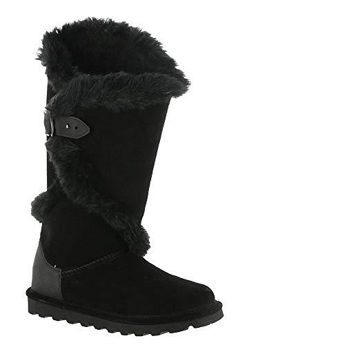 BEARPAW Women's Sheilah Boots, Black, 8 M