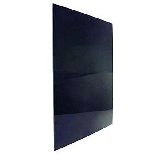 Norcold Black Plexiglas Refrigerator Door Panel, Black Plexiglas Lower Door Panel, 8 Ft.
