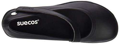 Noir Lena Femme Chaussures Suecos® de Travail Suecos® Lena Chaussures vqxp8t