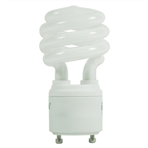 23 Watt - 100 W Equal - Full Spectrum 5000K - CFL Light Bulb - GU24 Base - Global Consumer Products 175 ()